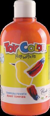 barva temperová Toy color 0.5 l  oranžová 05(8015189055514)