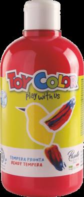 barva temperová Toy color 0.5 l  červená 08 světlá(8015189085511)