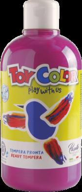 barva temperová Toy color 0.5 l  červená 09 magenta(8015189095510)