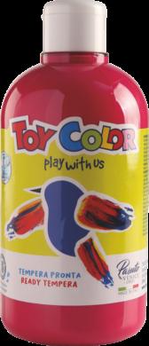 barva temperová Toy color 0.5 l  červená 10 tmavá(8015189105516)