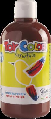 barva temperová Toy color 0.5 l  hnědá 22(8015189225511)