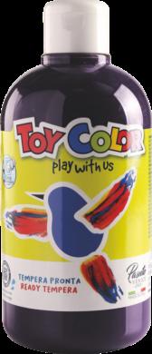 barva temperová Toy color 0.5 l  černá 24(8015189245519)