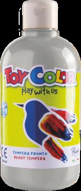 barva temperová Toy color 0.5 l metal stříbrná 25(8015189255518)