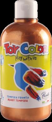 barva temperová Toy color 0.5 l metal bronzová 66(8015189665515)