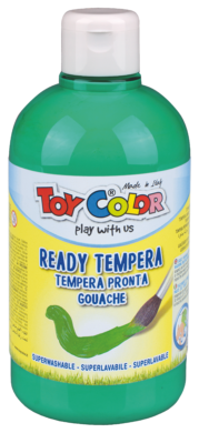 barva temperová Toy color 0.5 l  zelená 96 emerald pastel(8015189965639)