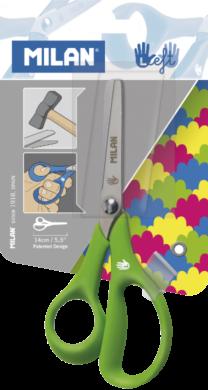 nůžky dětské Milan pro leváky blistr(8411574038276)