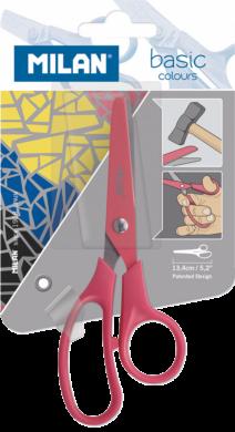 nůžky dětské Milan barevné blistr(8411574057888)