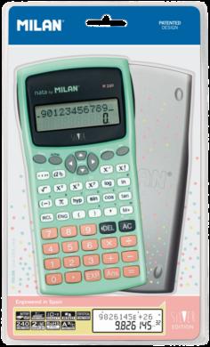 kalkulačka Milan 159110 SLBL vědecká tyrkysovo/stříbrná(8411574080329)