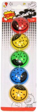 magnetky beruška 35mm 5ks(8590331298297)