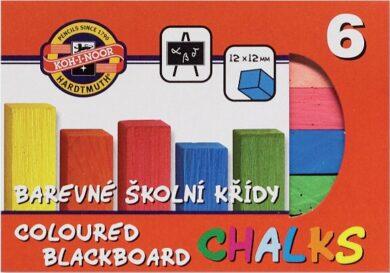 křídy barevné  6 kusů(8593540000156)