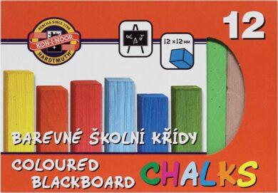 křídy barevné 12 kusů(8593540000170)