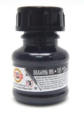 tuš černá 20 g KIN(8593540008237)