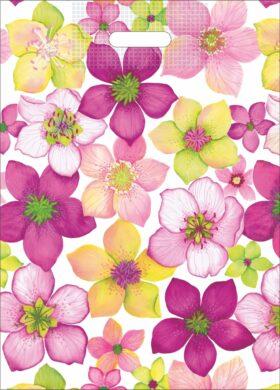 taška 50 x 35 květy zahrady(8594028133458)