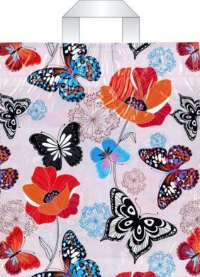 taška 45 x 40 s uchy motýli(8594028133984)