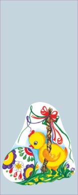 sáček velikonoční 12 x 30 čirý Kuřátka s pomlázkou(8594028134141)