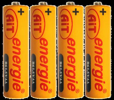 baterie AIT  R6 AA Silver 4ks - 080(8594029210073)
