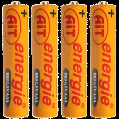 baterie AIT  R03 AAA Silver 4ks - 103(8594029210097)