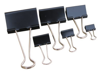 klip Binder černý Tempus 51mm(8594033822569)