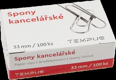 spony kancel. Tempus 33mm 100ks(8594033822583)