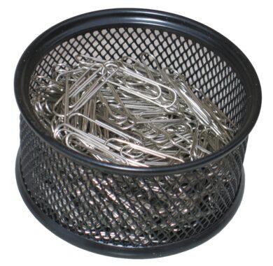 stojánek drátěný na spony Europen černý  + 200 spon 33 mm(8594033823184)