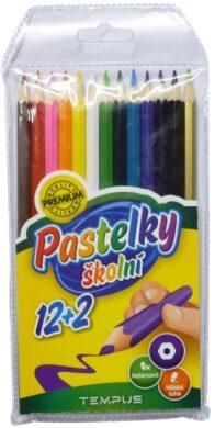 pastelky    Tempus  0613 12+2 barvy(8594033823221)