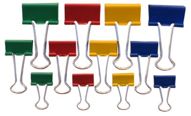 klip Binder barevný Tempus  19mm(8594033823924)