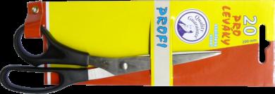 nůžky E.Profi 20cm blistr - pro leváky(8594033824396)