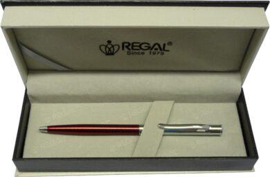 kuličkové pero Lane - červená(8594033824518)