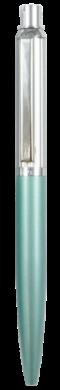 kuličkové pero 686 kovové tyrkysové světlé v krab.(8594033824686)