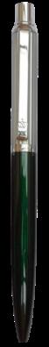 kuličkové pero 877 kovové zelené v krabičce(8594033824877)