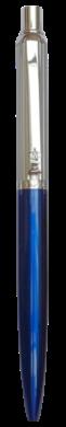 kuličkové pero 884 kovové modré v krabičce(8594033824884)
