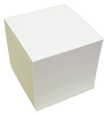 kostka lepená  bílá 10x10x10(8594033825065)