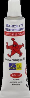 barvy temperové Europen červená(8594033825515)