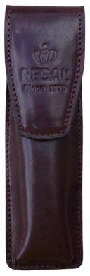 žpouzdro kožené Regal na 2 tužky hnědé(8594033825997)