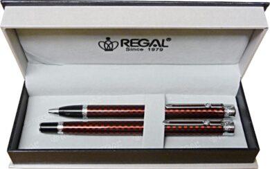 kuličkové pero + roller Ritz - červená(8594033826987)