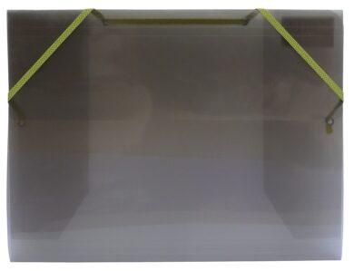 desky  3 klopy s gumou  Europen A4 kouřové(8594033827236)