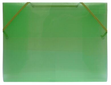 desky  3 klopy s gumou  Europen A4 zelené(8594033827267)