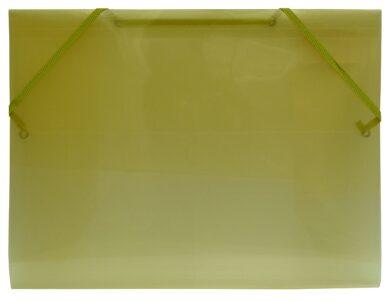 desky  3 klopy s gumou  Europen A4 žluté(8594033827274)