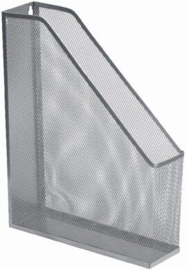 stojánek drátěný na časopisy Europen stříbrný(8594033827298)