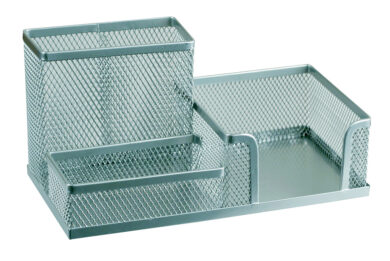 stojánek drátěný víceúčelový Combo Europen stříbrný(8594033827373)
