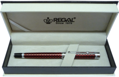 inkoustové pero Ritz - červená(8594033827397)