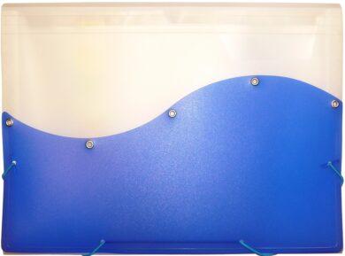 desky  13 kapes s gumou ARCHES A4 modré(8594033828530)
