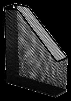 stojánek drátěný na časopisy Europen černý(8594033830038)