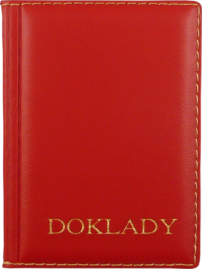 pouzdro na doklady  červené(8594033830557)