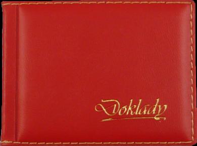 pouzdro na doklady INO červené(8594033830625)