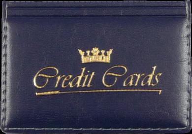 pouzdro na kreditní karty modré(8594033830717)