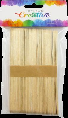 špachtle dřevěné 17mm natural 50ks(8594033831523)