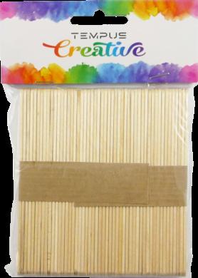 špachtle dřevěné 10mm natural 50ks(8594033831547)