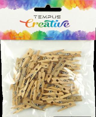 kolíčky  dřevo 2,5x0,3cm natural  50ks(8594033831554)