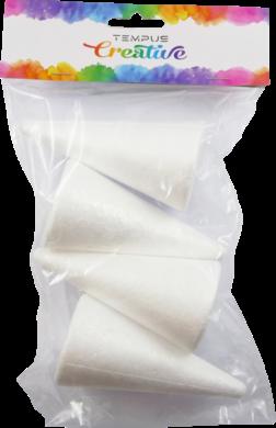 polystyren kužel 10cm 4ks(8594033831844)